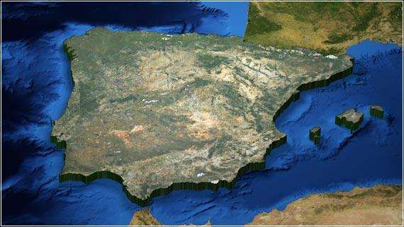 SatMap Spanien