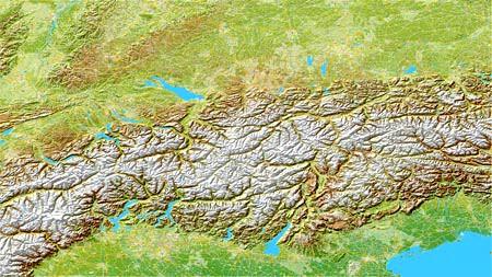 Alpen Sommer