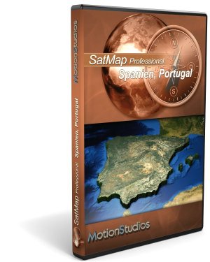 SatMapPro Spain/Portugal