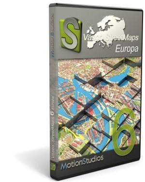 Upgrade Vasco StreetMaps 6 Europa