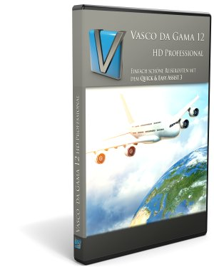 Vasco da Gama 12 HD Professional