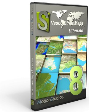 Vasco StreetMaps 8 Ultimate