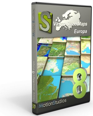Upgrade Vasco StreetMaps 8 Europa