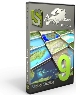 Upgrade Vasco StreetMaps 9 Europa